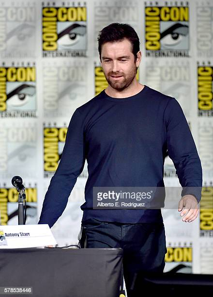 Actor Antony Starr attends CBS Television Studios Block Including 'Scorpion' 'American Gothic' And 'MacGyver' during ComicCon International 2016 at...