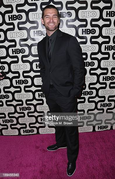 Actor Antony Starr attends HBO's Post 2013 Golden Globe Awards Party held at Circa 55 Restaurant at the Beverly Hilton Hotel on January 13 2013 in...