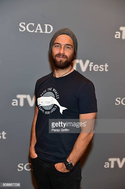 Actor Antony Starr attends the 'Banshee' event during aTVfest 2016 presented by SCAD on February 6 2016 in Atlanta Georgia