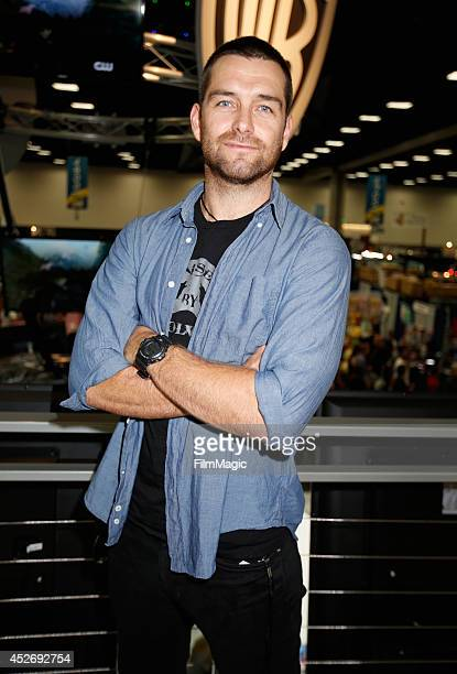 Actor Antony Starr attends the Cinemax Banshee cast autograph signing during ComicCon 2014 on July 25 2014 in San Diego California