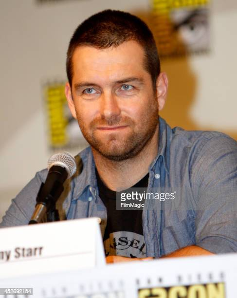 Actor Antony Starr attends the Cinemax Banshee Panel during ComicCon 2014 on July 25 2014 in San Diego California