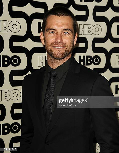 Actor Antony Starr attends the HBO after party at the 70th annual Golden Globe Awards at Circa 55 restaurant at the Beverly Hilton Hotel on January...