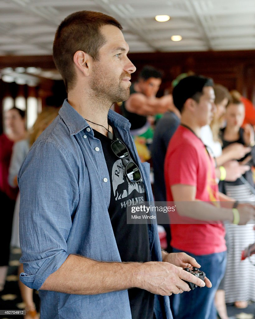 Nintendo Lounge On The TV Guide Magazine Yacht At Comic-Con #TVGMYacht - Day 2 : News Photo