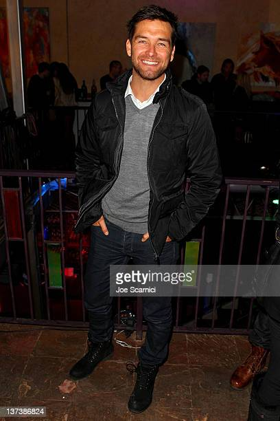 Actor Antony Starr attends the 'Wish You Were Here' After Party at 628 Main Street during the 2012 Sundance Film Festival on January 19 2012 in Park...