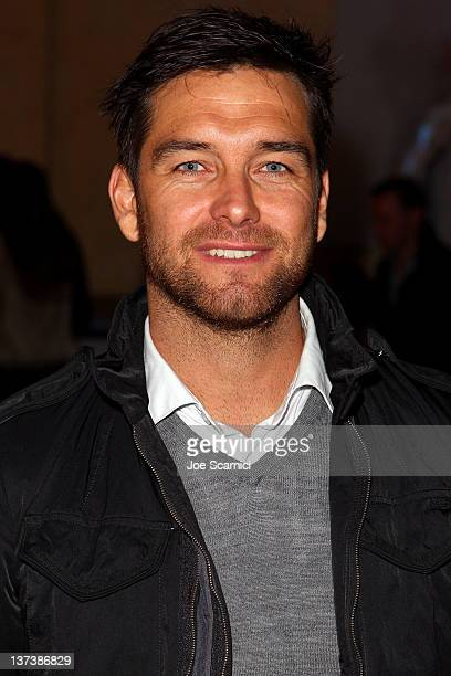 Actor Antony Starr attends the Wish You Were Here After Party at 628 Main Street during the 2012 Sundance Film Festival on January 19 2012 in Park...