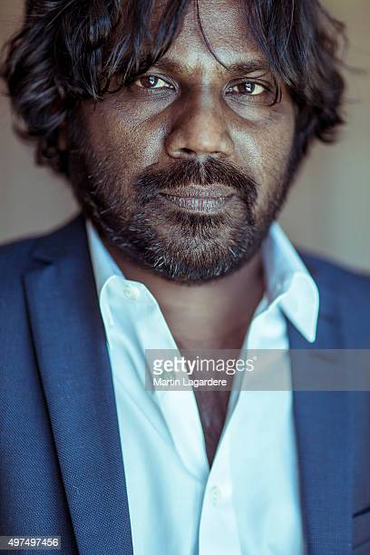 Actor Antonythasan Jesuthasan is photographed for Self Assignment on May 22 2015 in Paris France