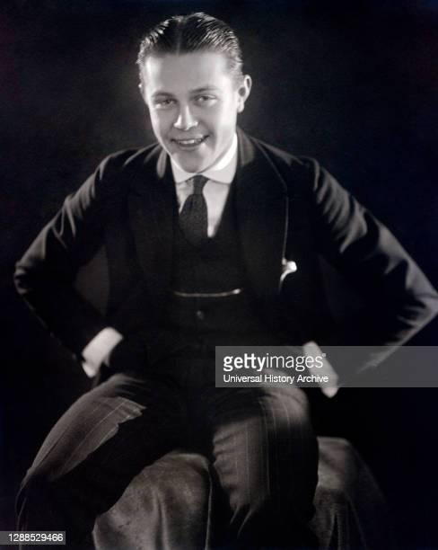 Actor Antrim Short, Three-Quarter Length Publicity Portrait, Evans L.A., 1917.