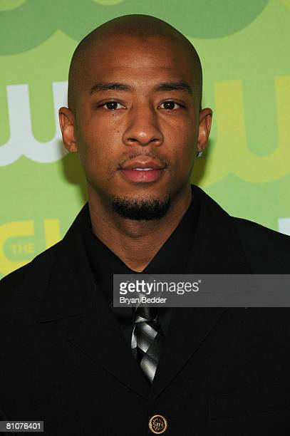 Actor Antwon Tanner arrives at the CW Network's Upfront at Lincoln Center on May 13 2008 in New York City