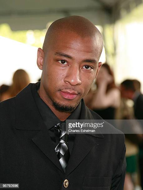 Actor Antwon Tanner arrives at the CW Network's Upfront at the Lincoln Center on May 13 2008 in New York City
