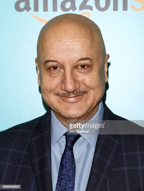 Actor Anupam Kher attends 'The Big Sick' New York premiere at The Landmark Sunshine Theater on June 20 2017 in New York City