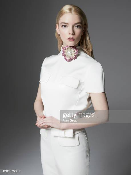 Actor Anya Taylor Joy is photographed for L'Officiel on January 13, 2020 in London, England.