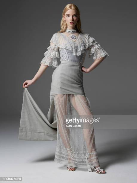 Actor Anya Taylor Joy is photographed for L'Officiel on January 13 2020 in London England