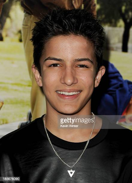 Actor Aramis Knight arrives at the premiere of Paramount Pictures' 'Jackass Presents Bad Grandpa' at TCL Chinese Theatre on October 23 2013 in...