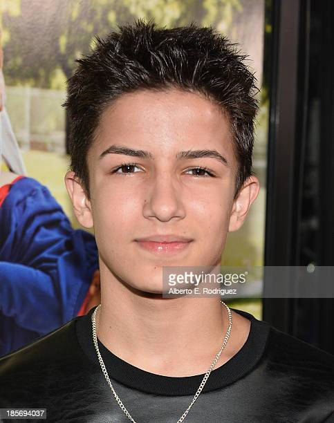 Actor Aramis Knight arrives to the premiere of Paramount Pictures' 'Jackass Presents Bad Grandpa' on October 23 2013 in Hollywood California