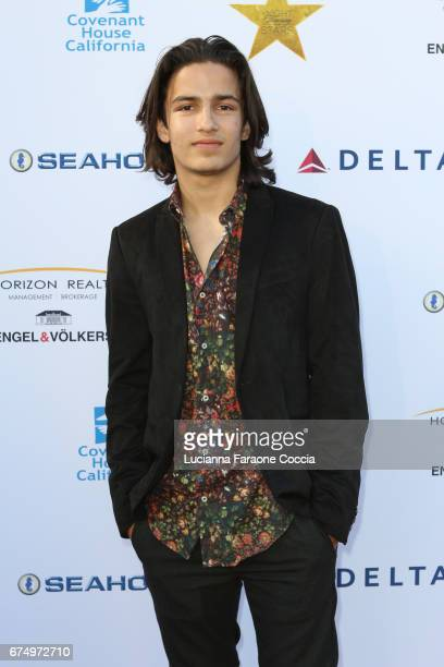 Actor Aramis Knight attends Covenant House Gala 2017 at The Globe Theatre on April 29 2017 in Universal City California