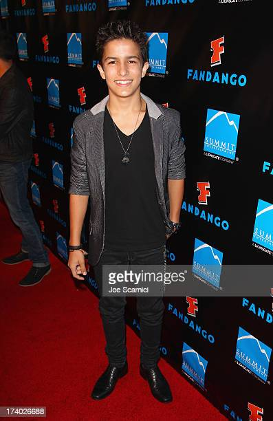 Actor Aramis Knight attends Summit Entertainment ComicCon VIP Celebration red carpet sponsored by Fandango at Hard Rock Hotel San Diego on July 18...