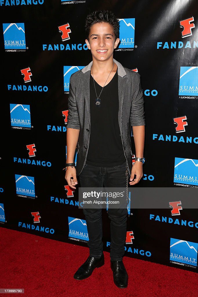 Actor Aramis Knight attends Summit Entertainment's Comic-Con Red Carpet Press Event at Hard Rock Hotel San Diego on July 18, 2013 in San Diego, California.