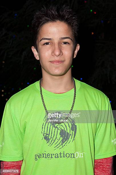Actor Aramis Knight attends the Children's Hospital Los Angeles' annual Holiday Tree Lighting Ceremony at Ralph M Parsons Foundation Dining Terrace...