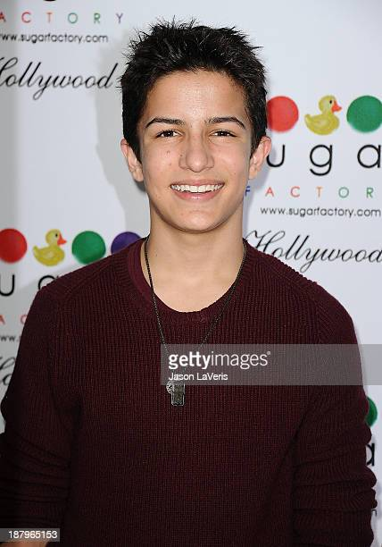 Actor Aramis Knight attends the grand opening of Sugar Factory Hollywood on November 13 2013 in Hollywood California