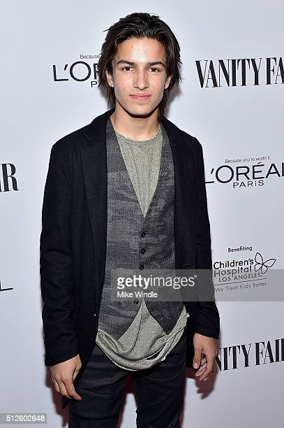 Actor Aramis Knight attends Vanity Fair L'Oreal Paris Hailee Steinfeld host DJ Night at Palihouse Holloway on February 26 2016 in West Hollywood...