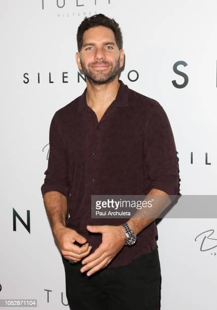 Actor Arap Bethke attends the 'Silencio' premiere at Arclight Cinemas Culver City on October 23 2018 in Culver City California