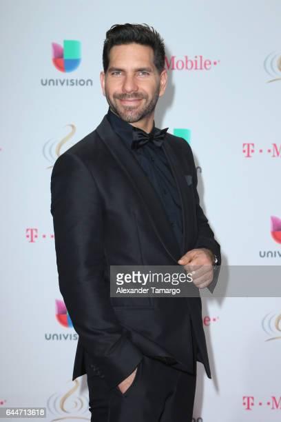Actor Arap Bethke attends Univision's 29th Edition of Premio Lo Nuestro A La Musica Latina at the American Airlines Arena on February 23 2017 in...