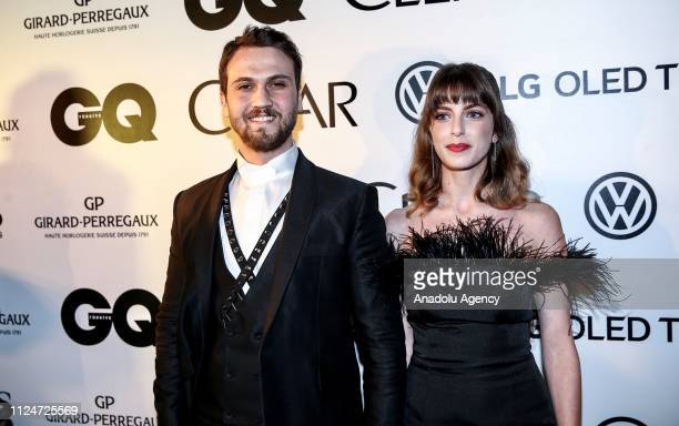Actor Aras Bulut Iynemli who was chosen 'Actor of the Year' award attends the GQ Men Of The Year Award Ceremony at the Volkswagen Arena in Istanbul...