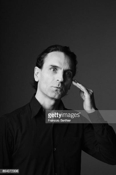 Actor Arben Bajraktaraj is photographed for Self Assignment on February 13 2017 in Paris France