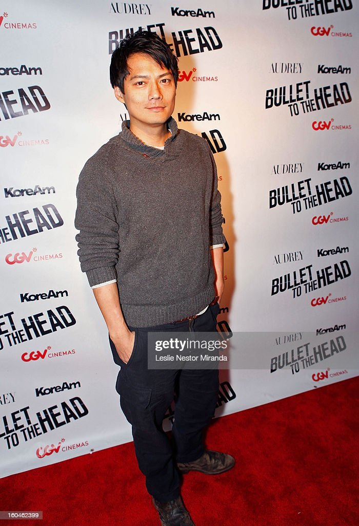 Actor Archie Kao attends 'Bullet To The Head' screening at CGV Cinemas on January 31, 2013 in Los Angeles, California.