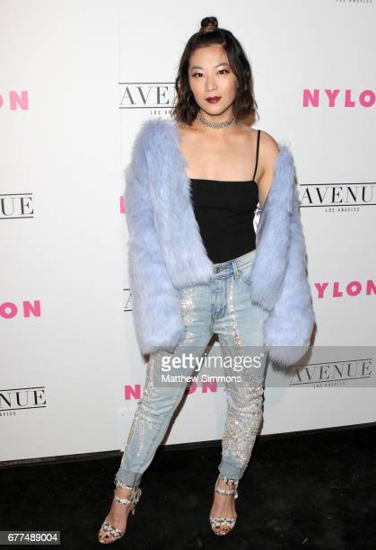 Actor Arden Cho attends NYLON's Annual Young Hollywood May Issue Event at Avenue on May 2 2017 in Los Angeles California