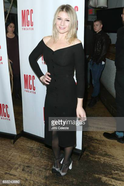 Actor Ari Graynor attends the Opening Night of MCC Theater's 'Yen' at SushiSamba 7 on January 31 2017 in New York New York