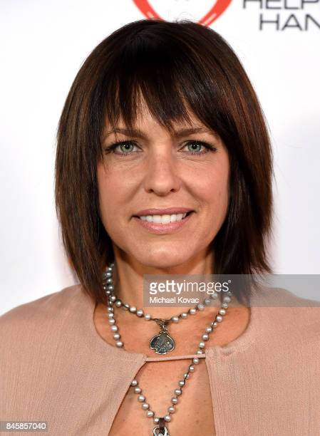 Actor Arianne Zucker at the Heroes for Heroes Los Angeles Police Memorial Foundation Celebrity Poker Tournament at Avalon on September 10 2017 in...