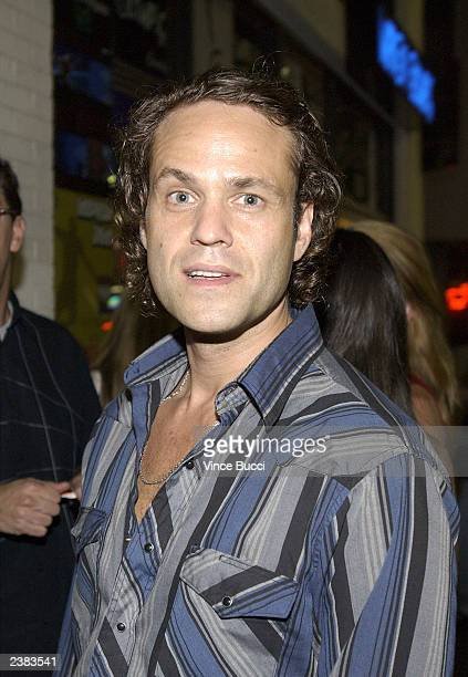 Actor Arie Verveen attends the afterparty for the premiere of the film Cabin Fever on August 8 2003 at Star Shoes in Hollywood California