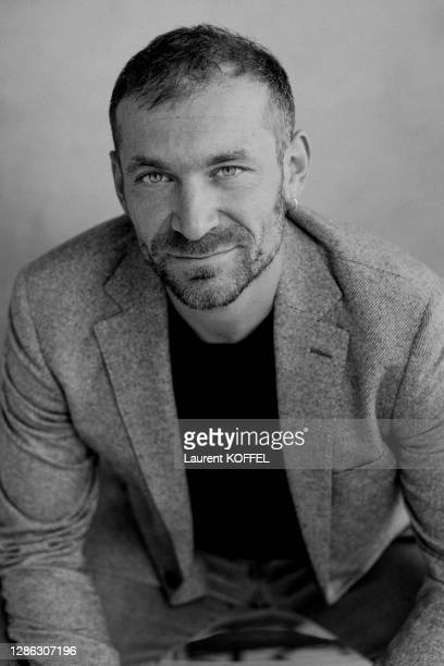 Actor Arieh Worthalter poses for portrait session during the 77th Venice Film Festival on September 4, 2020 in Venice, Italy.