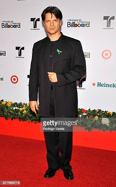 Actor Ariel Lopez Padilla attends the 2008 Billboard Latin Music Awards at the Seminole Hard Rock Hotel and Casino on April 10 2008 in Hollywood...