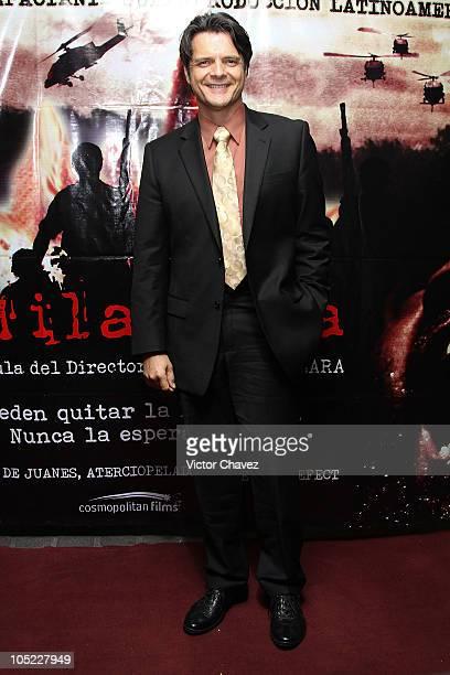 Actor Ariel Lopez Padilla attends the 'La Milagrosa' premiere at Lumier Reforma on October 12 2010 in Mexico City Mexico