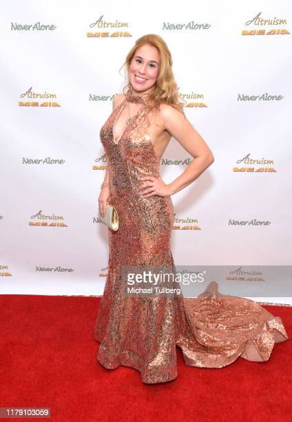 """Actor Ariel Michael attends the premiere of the film """"Never Alone"""" at Arena Cinelounge on October 04, 2019 in Hollywood, California."""