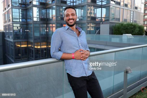 Actor Ari'el Stachel attends Art Meets Mixology presented by Silver Towers on June 21 2017 in New York City