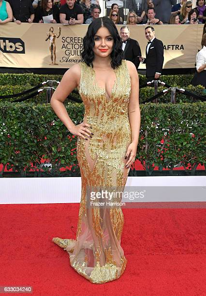 Actor Ariel Winter attends The 23rd Annual Screen Actors Guild Awards at The Shrine Auditorium on January 29, 2017 in Los Angeles, California....