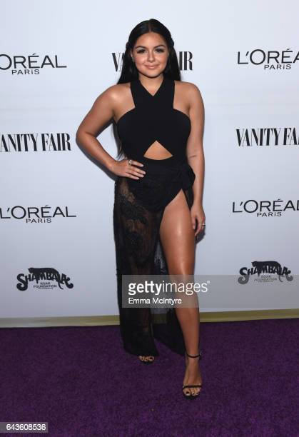 Actor Ariel Winter attends Vanity Fair and L'Oreal Paris Toast to Young Hollywood hosted by Dakota Johnson and Krista Smith at Delilah on February 21...