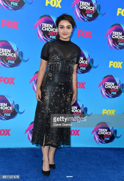 Actor Ariela Barer attends the Teen Choice Awards 2017 at Galen Center on August 13 2017 in Los Angeles California
