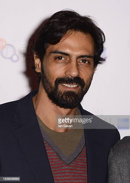 Actor Arjun Rampal attends the 'Chakravyuh' photocall during the 56th BFI London Film Festival at the Empire Leicester Square on October 11 2012 in...