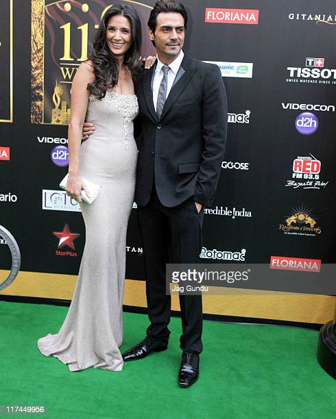 Actor Arjun Rampal attends the IIFA Awards green Carpet at the Rogers Centre on June 25 2011 in Toronto Canada