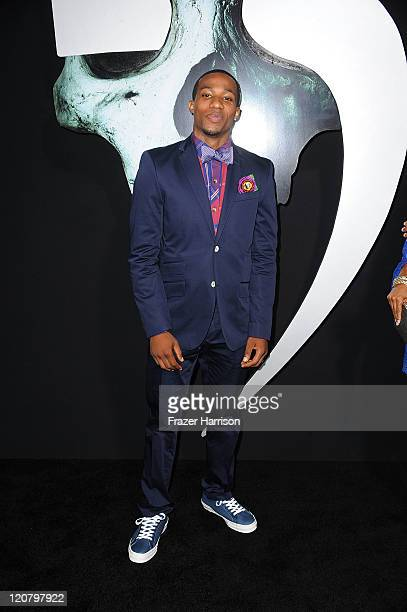 Actor Arlen Escarpeta arrives at the Screening of New Line Cinema's 'Final Destination 5' at the Grauman's Chinese Theatre on August 10 2011 in Los...