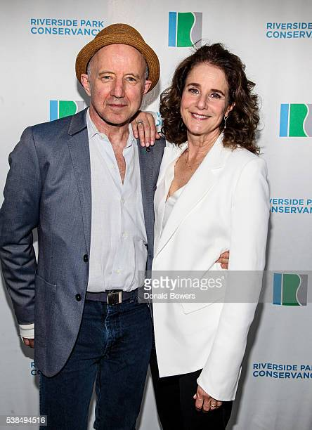 Actor Arliss Howard and actress and producer Debra Winger attend Riverside Park Conservancy's Annual Spring Gala at General Grant National Memorial...