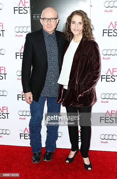 Actor Arliss Howard and actress Debra Winger attend the Centerpiece Gala Premiere of Columbia Pictures' 'Concussion' during AFI FEST 2015 presented...