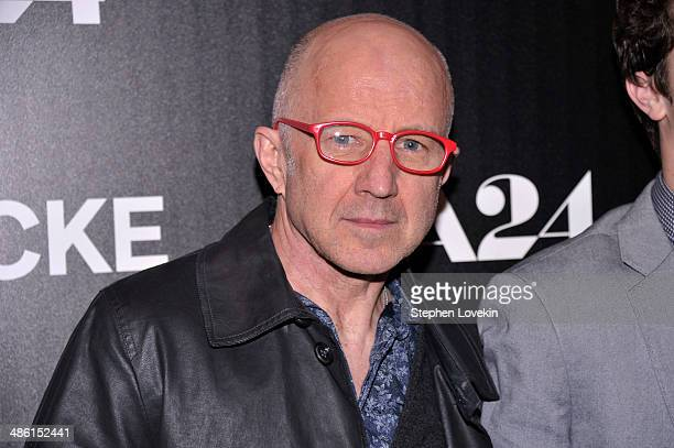 Actor Arliss Howard attends the A24 and The Cinema Society premiere of 'Locke' at The Paley Center for Media on April 22 2014 in New York City