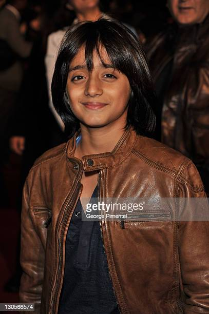 Actor Armaan Verma attends the premiere for 'RaOne' at the TIFF Bell Lightbox on October 26 2011 in Toronto Canada