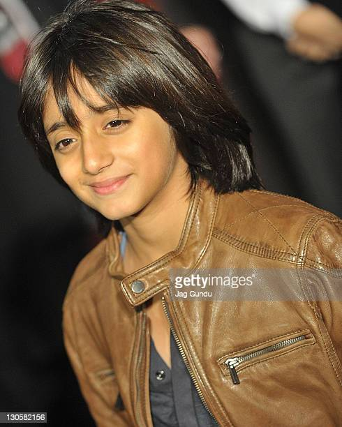 Actor Armaan Verma attends the premiere for 'RaOne' at TIFF Bell Lightbox on October 26 2011 in Toronto Canada