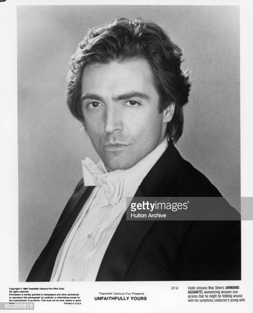 Actor Armand Assante poses for the 20th Century Fox movie ' Unfaithfully Yours' circa 1984